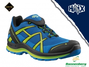 "Produktbild ""HAIX Black Eagle Adventure 2.0 low/blue-citrus/gtx"""