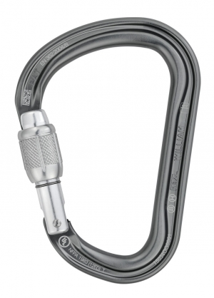 "Produktbild ""Petzl Karabiner WILLIAM SCREW-LOCK